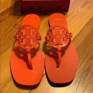 Tory Burch Miller Square Toe Sandal